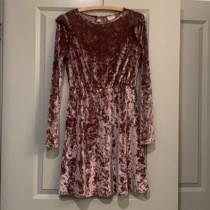 Crushes Velvet Party Dress